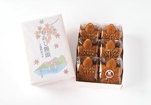 もみじ饅頭6個入(5種類+栗もみじ)