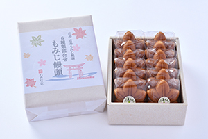 もみじ饅頭12個入(5種類+小夏)