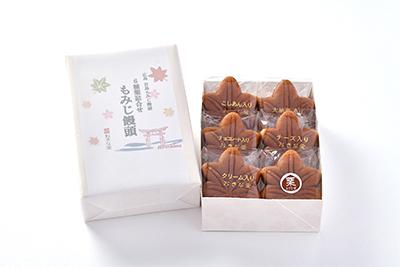 もみじ饅頭6個入(5種類+栗)