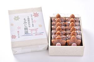 もみじ饅頭12個入(5種類+春小町)