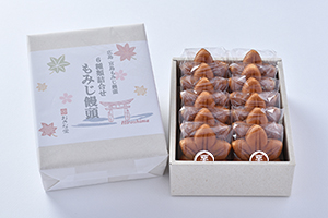 もみじ饅頭12個入(5種類+栗)