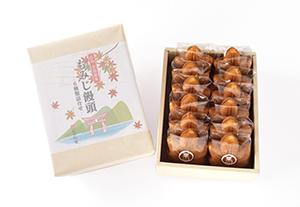 もみじ饅頭12個入(5種類+栗もみじ)