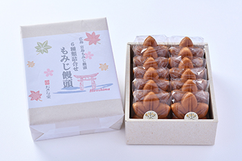 もみじ饅頭12個入(5種類+雪)