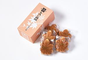 もみじ饅頭5個入(こしあん)