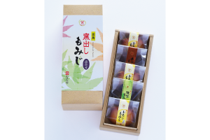 窯出しもみじ 5個入(レモン3・抹茶1・チョコ1)