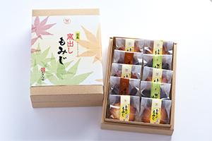 窯出しもみじ 10個入(レモン6・抹茶2・チョコ2)