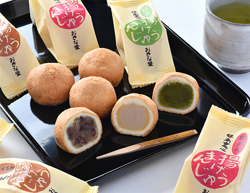 <span>おきな堂の焼菓子</span>